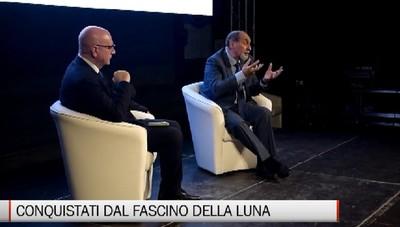 50 anni sulla Luna: in piazza Vecchia con Guidoni