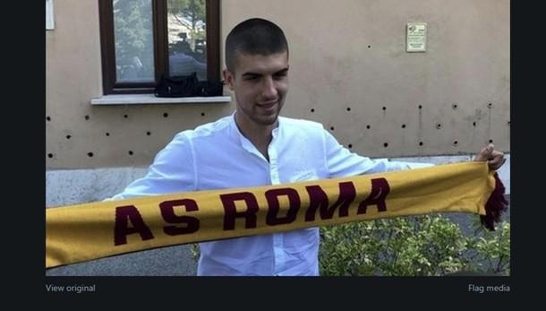 Mancini è un giocatore della Roma L'Atalanta: grazie per il tuo impegno