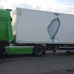 Bonate Sopra, incidente sull'Asse Traffico in tilt all'ingresso della galleria