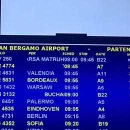 Nuovi ritardi da Orio per Blue Panorama Dopo 38 ore il decollo per Minorca