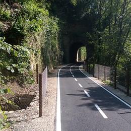 Pista ciclabile della Valle Brembana Sabato debutta il tratto di Sedrina