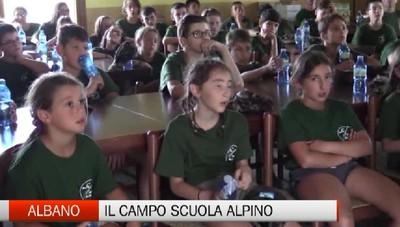 Albano Sant'Alessandro, il Campo Scuola Alpino