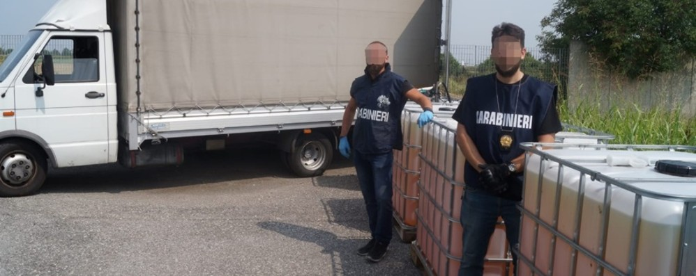 Capannone abbandonato con sorpresa Trovata merce rubata per 65 mila euro