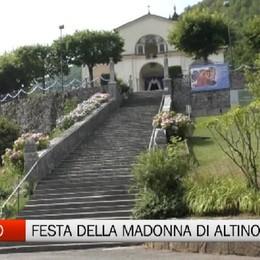 Vall'Alta di Albino, la festa per la Madonna di Altino