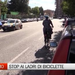Bergamo - Una targa per frenare i ladri di biciclette