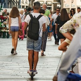 I monopattini in città ancora fuorilegge  «Manca il regolamento comunale»