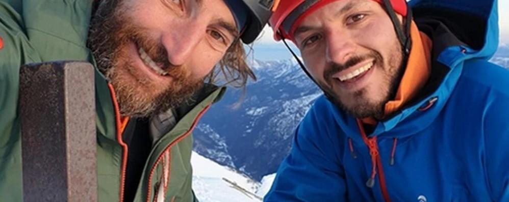 L'alpinista Cassardo arrivato in ospedale I soccorsi coordinati da Bergamo