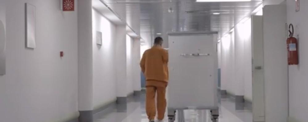 Arte in ospedale, l'accoglienza si fa sonora Al Papa Giovanni l'installazione di Senni
