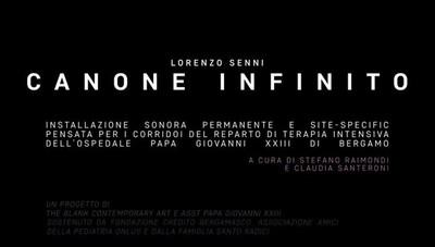 Lorenzo Senni «Canone infinito»