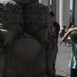 Rinforzo dell'anticiclone, caldo torrido Smog, è  allarme ozono  a Bergamo