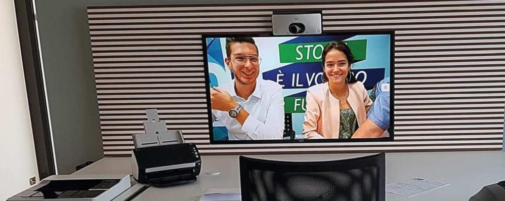 Banca con sportellisti «virtuali»  Succede ad Alzano e Villa di Serio