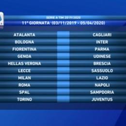 Calendario, l'Atalanta riparte con la Spal Juve alla 13.a, poi  derby con il Brescia