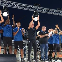 Gasp: voi l'entusiasmo, noi l'impegno Percassi: tifosi, siete l'Atalanta -Foto/video