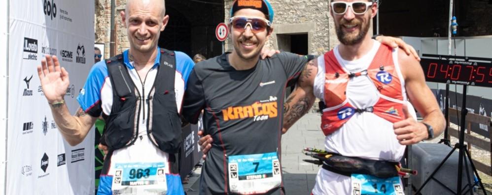 Marathon Ultra Trail, ecco i vincitori - Foto Bgut, sul podio ci sono Zanotti e Milanesi