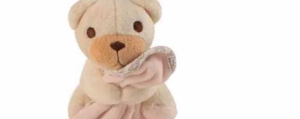 «Perso l'orsetto delle coccole in centro» L'appello di un papà e il ritrovamento