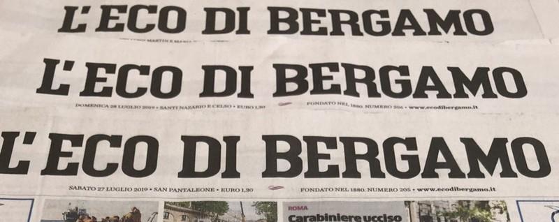 Il prezzo e il valore di un giornale - L'Editoriale Bergamo
