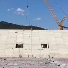 Nuovo stadio, news dalla curva Finiti i nuovi gradoni - Foto