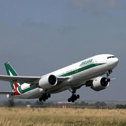 Orio, Alitalia conferma voli per Roma Dopo riapertura di Linate 3 fissi al giorno