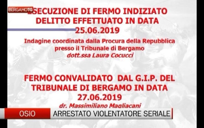 Osio Sotto: arrestato violentatore seriale - L'Eco di Bergamo