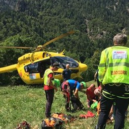 Perdono l'orientamento sul Monte Torcola Soccorsi sette giovani scout bergamaschi
