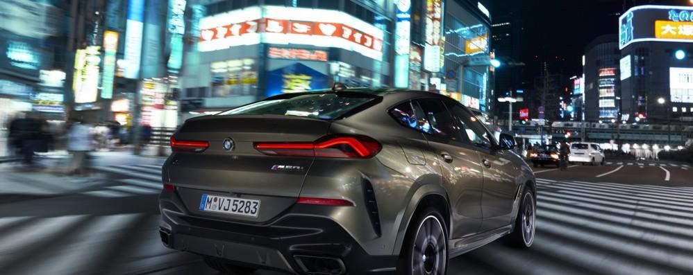 Nuova Bmw X6 sportiva coupé