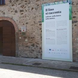 All'ex Monastero di Valmarina «Il Lino è Arte»