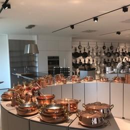 Le pentole Agnelli crescono Ecco showroom e ristorante