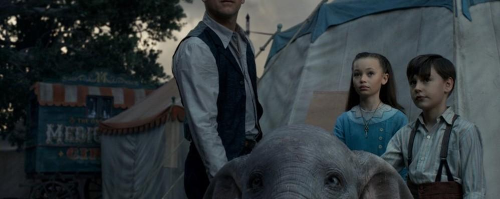 Arena Santa Lucia C'è il film «Dumbo»