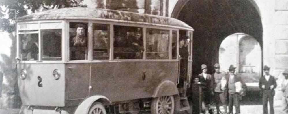 Città Alta e il sogno della filovia Nell'estate del '21 la prima corsa