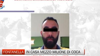 Blitz antidroga, sequestrato mezzo milione di cocaina