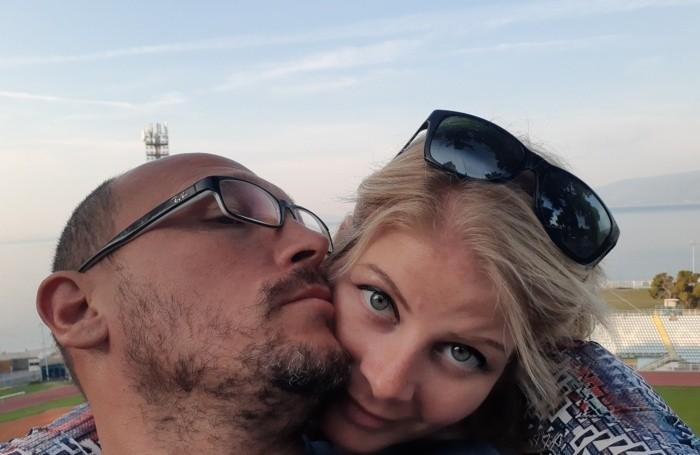 Jennifer Persico con marito Marco
