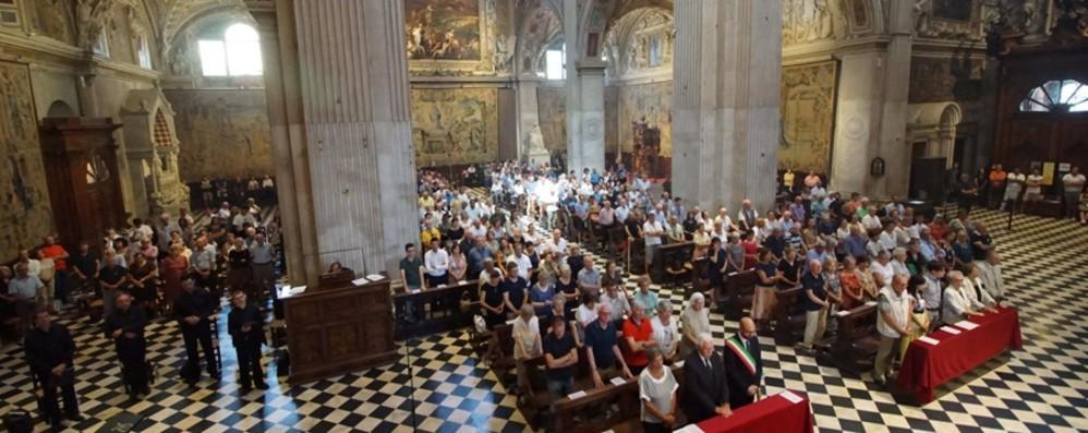 Assunzione, messa in S.Maria Maggiore Il vescovo: «Diventiamo cielo per gli altri»