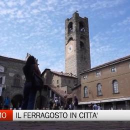 Bergamo, il Ferragosto in città