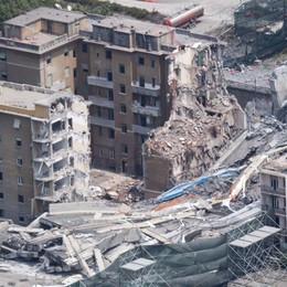 La volontà di rinascere L'Italia migliore per il ponte Morandi