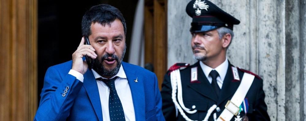 Salvini, la strada ora va un salita