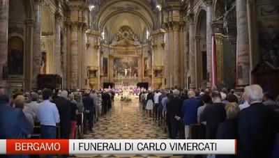 Bergamo, i funerali di Carlo Vimercati