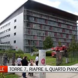 Ospedale, riaperto il quarto piano della torre 7