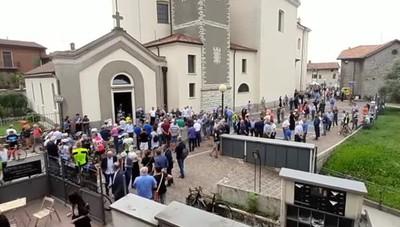 «Gimondiani» a Paladina: alle 11 i funerali