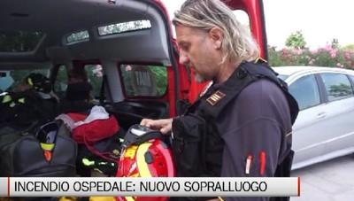 Incendio ospedale: nuovo sopralluogo