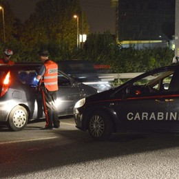 Val Brembana, al volante ubriaco Aveva la patente da poco: denunciato