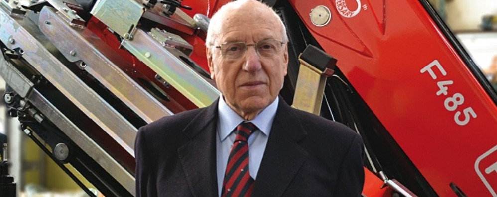 Addio a Franco Fassi, pioniere d'industria Fondò l'azienda leader di gru nel mondo