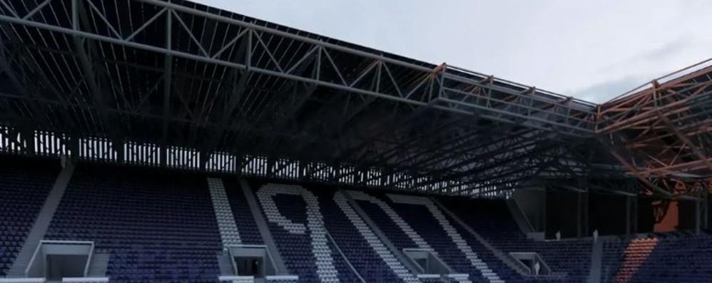 Stadio, un mese alla fine dei lavori A metà settembre i 9.100 seggiolini