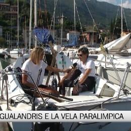 Lovere, la storia del velista paralimpico Gualandris