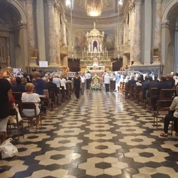 L'ultimo saluto a Carlo Scotti Foglieni L'omaggio dei politici a Calusco
