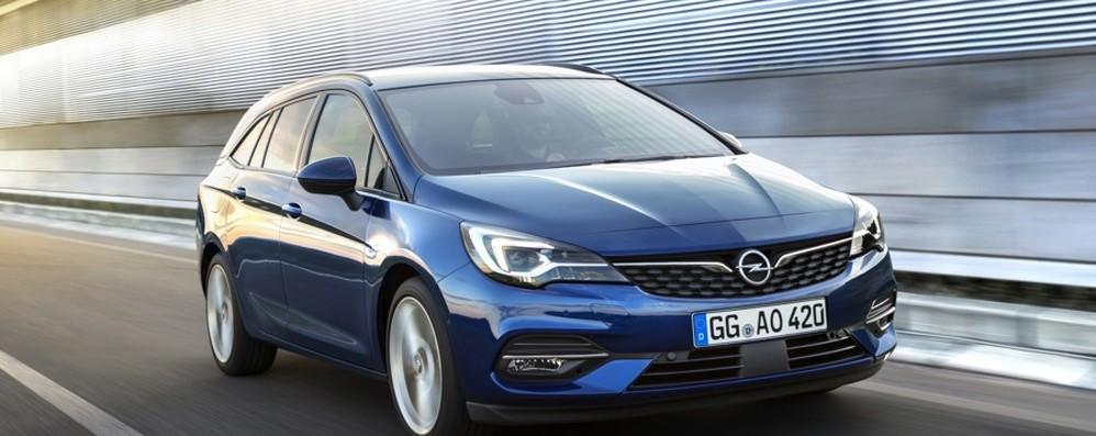 Nuova Opel Astra aerodinamica al top
