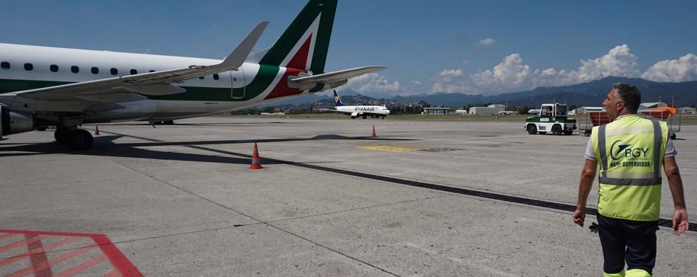 Successo per la tratta Orio-Roma Alitalia, da ottobre 5 voli giornalieri