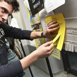 Unibg, all'appello mancano 600 alloggi  E gli affitti schizzano alle stelle: più 5%