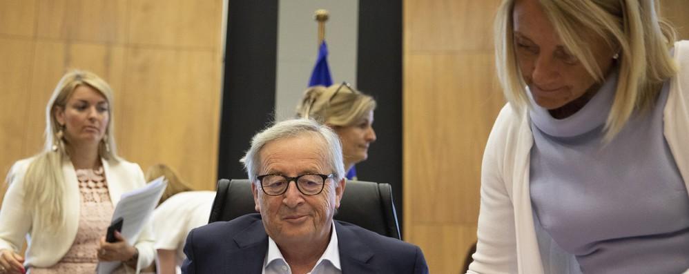 Intervento Juncker riuscito, ma non parteciperà al G7