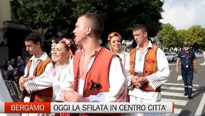 37° Festival Internazionale del Folclore  Ecco la sfilata nel centro storico