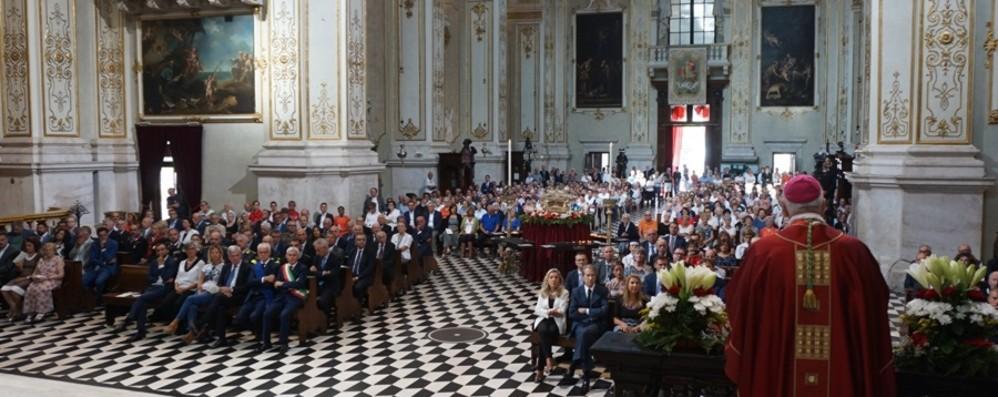 Il vescovo alla Messa per Sant'Alessandro «Ignoranza della fraternità crea discriminazione»